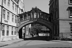 Bridge of sighs stock images