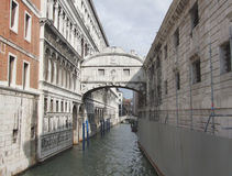 Bridge of Sighs. In Venice (Italy Stock Image