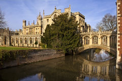 Bridge of Sighs - Cambridge - England Royalty Free Stock Images