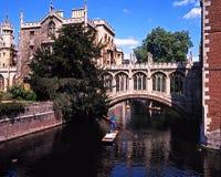 Bridge of Sighs, Cambridge. Stock Photography