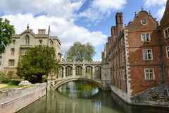 Bridge of Sighs, Cambridge, UK Royalty Free Stock Photography