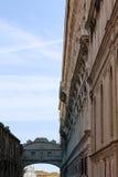 Bridge of Sighs detail, Venice Stock Photo