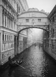 The Bridge of Sighs Stock Images