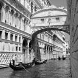 Bridge of Sighs Royalty Free Stock Photos
