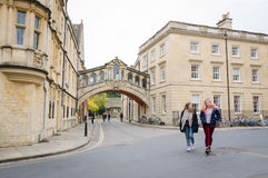 Bridge of Sighs at Hertford College, Oxford Stock Photo