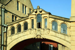 Bridge of Sighs, Hertford College, Oxford University's Stock Photography