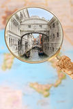Bridge of Sighs, Italy Royalty Free Stock Images
