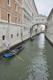 The Bridge of Sighs Royalty Free Stock Photography