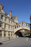 Bridge of Sighs over New College Lane, Oxford. Royalty Free Stock Photo