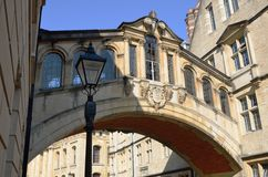 Bridge of sighs oxford england Stock Photos