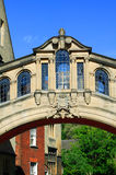 Bridge of Sighs, Oxford University. The Bridge of Sighs across New College Street in Oxford connects the buildings of Oxford University's, Hertford College Royalty Free Stock Photography