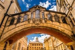 Bridge of Sighs,  Oxford University Stock Photos