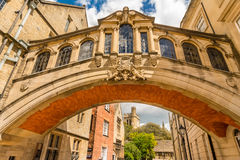 Bridge of Sighs,  Oxford University Royalty Free Stock Image