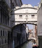 Bridge of Sighs Ponte dei Sospiri , Italy. Venice - Bridge of Sighs Ponte dei Sospiri , Italy Stock Images