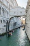 Bridge of Sighs - Ponte dei Sospiri - Venice Stock Images