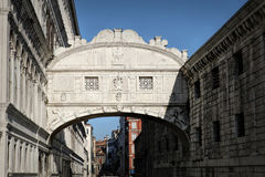 Bridge of Sighs ponte dei sospiri in Venice, Italy Royalty Free Stock Photography