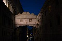 Bridge of Sighs - Ponte dei Sospiri - Venice Stock Image