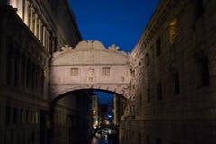 Bridge of Sighs - Ponte dei Sospiri - Venice Stock Photos