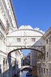 Bridge of Sighs Ponte dei Sospiri, view from Ponte della Paglia, Venice, Italy. VENICE, ITALY- SEPTEMBER 21, 2017: Bridge of Sighs Ponte dei Sospiri, Venice Stock Image