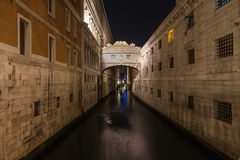 Bridge of Sighs (Ponte dei Sospiri) Stock Photos