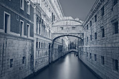 Bridge of Sighs. Royalty Free Stock Photography