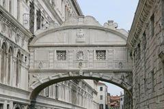 Bridge of sighs in Venice Stock Photos