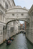 Bridge of sighs in Venice Royalty Free Stock Photography