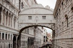 Bridge of Sighs, Venice Royalty Free Stock Photo