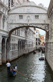 Bridge of Sighs, Venice Stock Photo