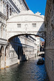 Bridge of Sighs in Venice Stock Photo