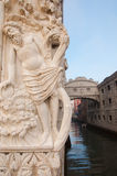 Bridge of Sighs in Venice Stock Photography