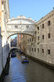 Bridge of Sighs Venice Royalty Free Stock Images