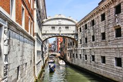 Bridge of Sighs, Venice Stock Images