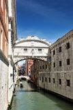 The Bridge of Sighs, Venice Stock Photos