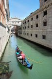 The Bridge of Sighs, Venice Stock Photography