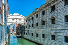 Bridge of Sighs - Venice, Italy Royalty Free Stock Photos