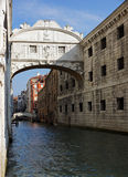 Bridge of Sighs Royalty Free Stock Photography
