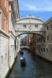 The Bridge of Sighs in Venice Royalty Free Stock Photos