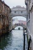 The Bridge of Sighs, Venice Royalty Free Stock Photos