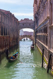 Bridge of Sighs in Venice, Italy Royalty Free Stock Images