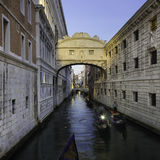 Bridge of Sighs, Venice, Italy. Stock Images