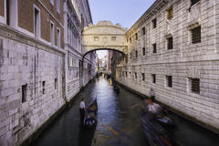 Bridge of Sighs, Venice, Italy. Stock Photography