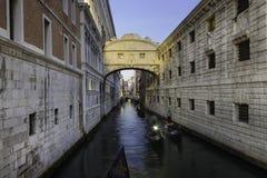 Bridge of Sighs, Venice, Italy. Stock Photos