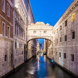 Bridge of Sighs, Venice, Italy. Royalty Free Stock Images