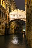 Bridge of sighs in Venice, Italy Royalty Free Stock Photos