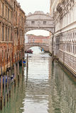 The Bridge of Sighs (Venice , Italy) royalty free stock image