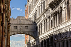 Bridge of sighs. Venice. Italy. Stock Photography