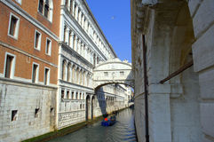 Bridge of Sighs Venice, Italy Stock Photos