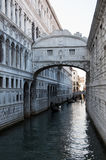 Bridge of Sighs - Venice in Italy Stock Images