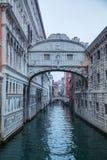 Bridge of sighs in Venice, Italy Royalty Free Stock Photos